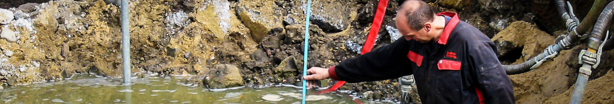 Entwässerung bei Rensing Erdbau Gmbh & Co KG