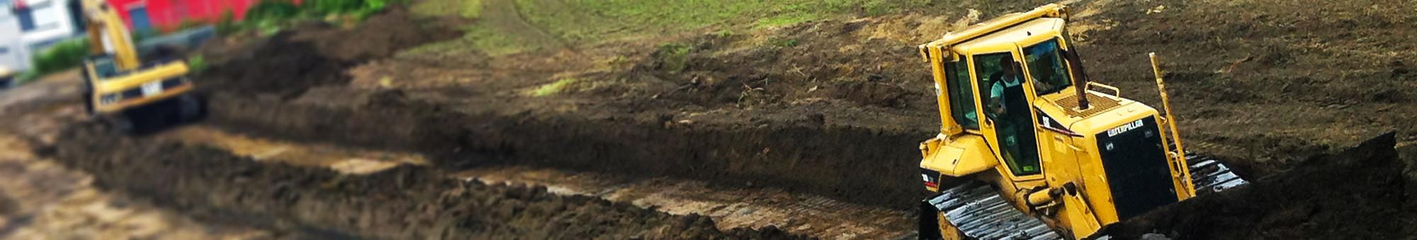Erdbau bei Rensing Erdbau aus Reken im Kreis Borken